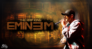 Eminem Rap king by BerkayGraphic