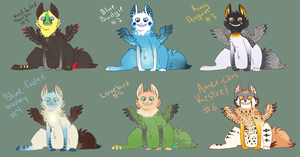 More Adoptables OPEN by AmburgurAndFries