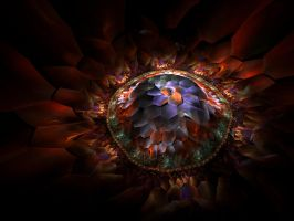Fractal Petals by Virginia-Fred