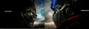 Transformers Dual Screen by prodipic