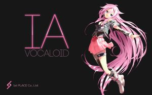 Vocaloid IA Black by AssassinWarrior
