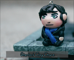 Sherlock Clay Charm by Comsical