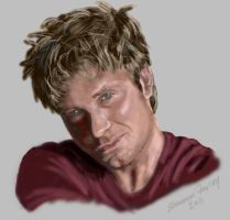 Vic Mignogna portrait by AkatsukiMember101