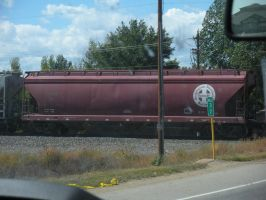 train car -stock image- by EnforcedCrowd