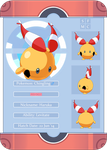 PKMNation: Haruka the Chingling Reference Sheet by pixielog