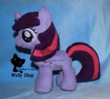 Twilight Filly! plush by Vegeto-UchihaPortgas
