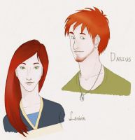 The Hunger Games - Darius and Lavinia by when-i-caught-myself