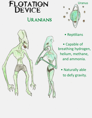 Flotation Device: Uranians