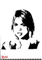 Rose Tyler by Zizzorhands