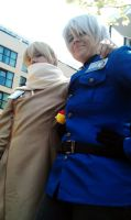 Russia and Prussia by SsBrownie