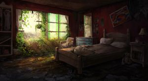 Abandoned room by PrabhuDK