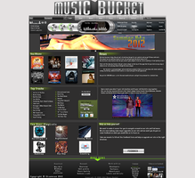 Music Bucket Layout Design by stiannius
