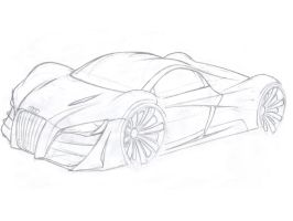 Audi sketch...more to come by Morfiuss