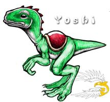 Realistic Yoshi...Perhaps by spatialchaos