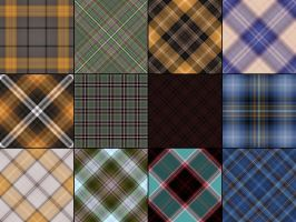 Plaids textures by Nakiloe