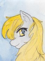 Drama Pony ACEO by Enuwey