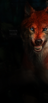 wolf. by ARGENTICIDE