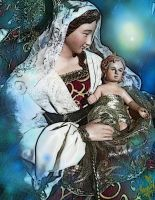 Mary, Mary-Glory Be to The New Born King by tessieart333