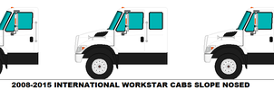 International Workstar cabs slope nosed by MisterPSYCHOPATH3001