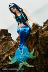 Blue Mermaid by DaisyViktoria