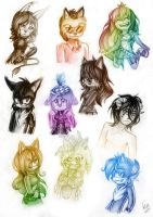 10 sketches requests by CofL-fee