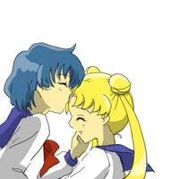 Ami and Usagi by Rhodonite