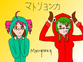 Teto and GUMI - Matryoshka by xMidnightfurx