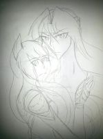 Sketch: Spirits of the New Moon - Protect by AnimeEmm