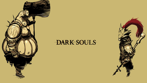 Dark souls, Ornstein And Smough Wallpaper by Xarith