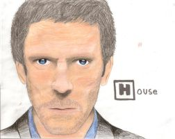 House MD colored by wolverineluver45