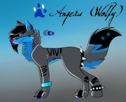 Angeru (Wolfy) 2013 Ref Sheet by BipolarWolfy