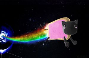 Nyan Cat by o0Syringes0o