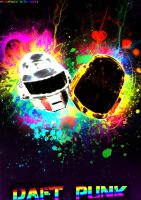 Daft Punk Dammaged Art 2 by XDaftXpunker