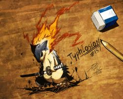 Typhlosion level: Badass by RikuAoshi