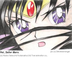 REI Sailor Mars by disturbed-angel