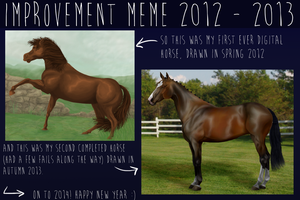 Improvement Meme by TashaCraven