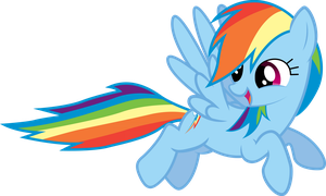 Flying Rainbow Dash by The-Mad-Shipwright