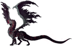The Dragon (transparent) by Orionali