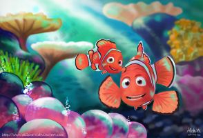 Finding Nemo by Allisha-V
