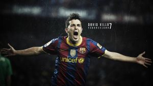 David Villa by emrgraphix