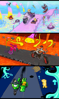 iscribble- highways of X and Y by yubishines