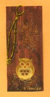 Little owl bookmark by tamisan-mio