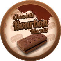 Chocolate Bourbon Biscuits by Echilon