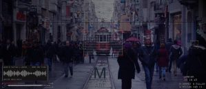 Photoshop Person Of Interest And Istanbul Istiklal by M-Sefa