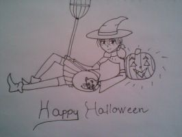 Halloween Cleio by Rin4