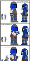 Mandalorians dont take arrows to the knee by MirtaGevFett