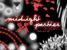 Midnight Parties: Lights, Ect. by kalijean