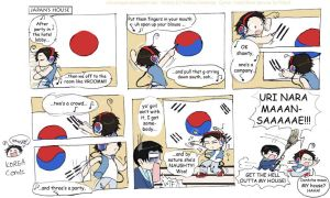 Korea, while lstning 2 Pitbull by Chocoreaper
