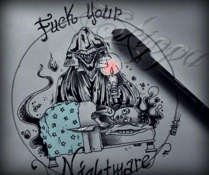 Fuck your nightmare by Skippink