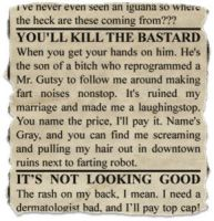 scrap from newspaper 4 by gapystock